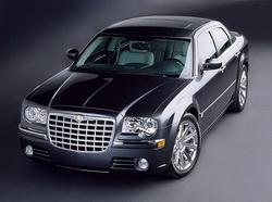 Аренда машины бизнес класса Chrysler C 300 - от 300 грн.